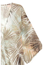 Patterned kaftan - Natural white/Leaf - Ladies | H&M 3