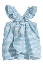 洋裝和燈籠短褲 - Blue/White/Striped - Kids | H&M 2