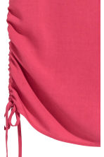 Sleeveless top - Raspberry red - Ladies | H&M CN 3