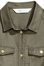 Twill tunic - Khaki green - Kids | H&M CN 3