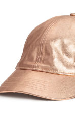 Coated cotton cap - Rose - Ladies | H&M 2