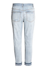 Boyfriend Low Ripped Jeans - Pale denim blue - Ladies | H&M 3