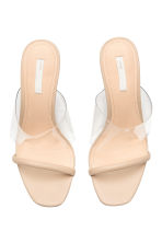 Mules - Transparent - Ladies | H&M 2