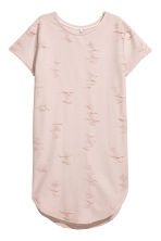 Trashed T-shirt dress - Powder beige - Ladies | H&M 2