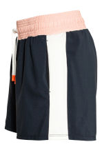 Sports shorts - Dark blue/Powder - Ladies | H&M CN 3