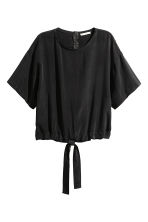 Top in misto cupro - Nero - DONNA | H&M IT 2