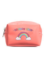 Mini pouch - Coral/Rainbow - Ladies | H&M CN 1