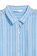 Striped shirt - Light blue/White - Ladies | H&M CN 3
