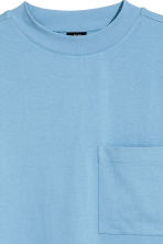 Oversized T-shirt - Sky blue - Men | H&M 3