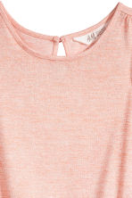 Glittery playsuit - Powder pink marl -  | H&M CA 3