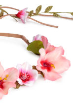 Hairband with flowers - Pink - Ladies | H&M 2