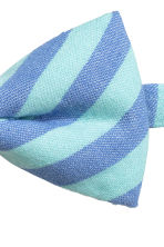 Striped bow tie - Blue/Mint green - Kids | H&M 2