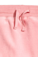 Velour trousers - Pink -  | H&M 2