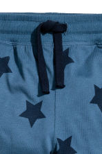 2-pack joggers - Blue/Star - Kids | H&M CN 4
