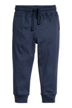 2-pack joggers - Blue/Star - Kids | H&M CN 3
