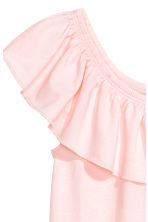 Flounced jersey top - Light pink - Kids | H&M 3