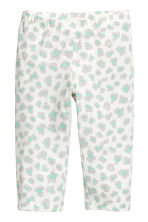 Jersey pyjamas - White/Grey - Kids | H&M 2