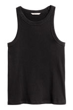 H&M+ Jersey vest top - Black -  | H&M CA 1