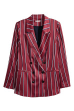 Burgundy/Striped