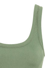 Abito in jersey a costine - Verde - DONNA | H&M IT 3