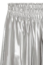 Pleated skirt - Silver - Ladies | H&M 3