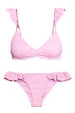 Jacquard-patterned bikini - Pink - Ladies | H&M CN 2