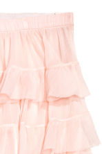 Tiered skirt - Powder pink - Ladies | H&M GB 3