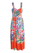 Patterned dress - Coral -  | H&M GB 2