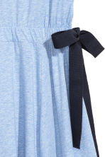 Jersey dress with ties - Light blue - Ladies | H&M CN 3
