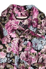 Jacquard-weave jacket - Black/Floral - Ladies | H&M 3