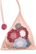 Triangle bikini top - Powder pink - Ladies | H&M 3