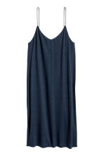 Knee-length jersey dress - Dark blue - Ladies | H&M CN 2