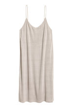 Knee-length jersey dress - Light grey - Ladies | H&M 2