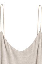 Knee-length jersey dress - Light grey - Ladies | H&M 3