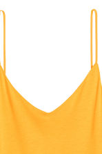 Knee-length jersey dress - Yellow -  | H&M CN 3