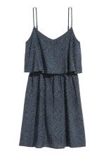 Short dress - Dark blue/Spotted - Ladies | H&M CN 2