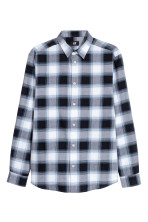 Dark blue/Checked