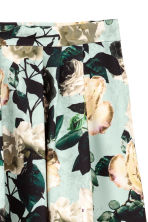 Calf-length skirt - Mint green/Floral - Ladies | H&M 3