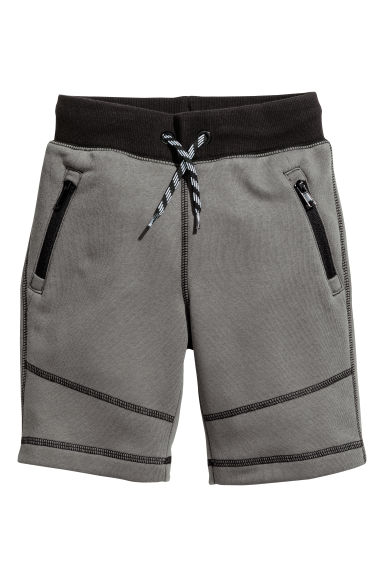 Sweatshirt shorts - Dark grey - Kids | H&M