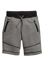 Sweatshirt shorts - Dark grey - Kids | H&M CN 1