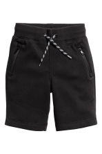 Sweatshirt shorts - Black - Kids | H&M CN 2