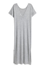 Jersey dress - Grey marl - Ladies | H&M 3