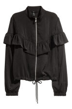 Flounced jacket - Black - Ladies | H&M 2
