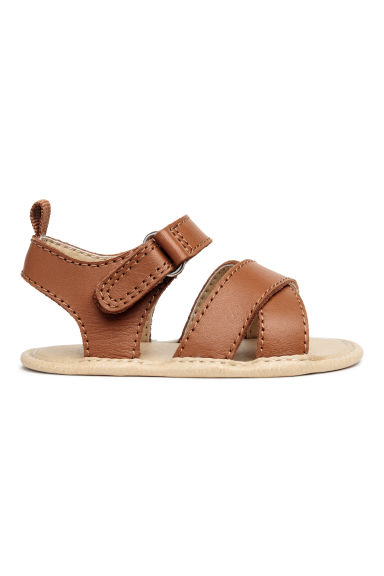 Leather sandals - Camel - Kids | H&M IE
