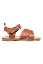 Leather sandals - Camel - Kids | H&M CN 1