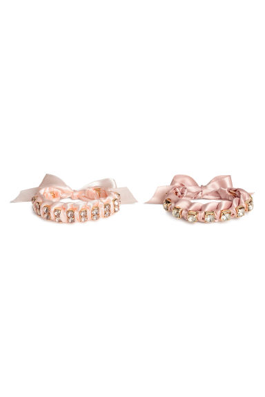 2-pack bracelets - Gold - Ladies | H&M CN