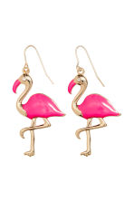 Earrings - Neon pink/Flamingo - Ladies | H&M CA 1