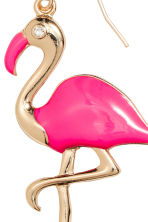 Earrings - Neon pink/Flamingo - Ladies | H&M 2