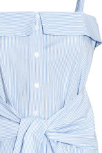 Cotton top - Blue/White/Striped - Ladies | H&M 3
