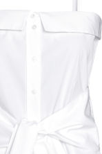 Cotton top - White - Ladies | H&M 3